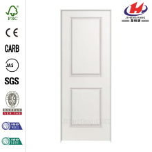 36 in. x 80 in. Solidoor Smooth 2-Panel Square Solid Core Primed Composite Single Prehung Interior Door