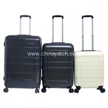 PET Material Trolley Case with Steel Wire