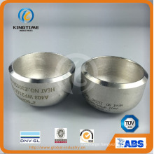 ASME Wp304/304L Ss Steel Cap Pipe Fitting with OEM Service (KT0074)