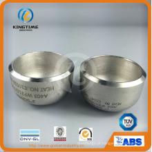 Tubulação aço Cap ASME Wp304 / 304L Ss com o serviço do OEM (KT0074)