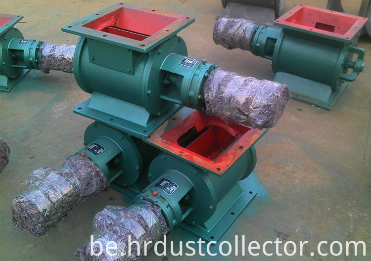 Star Type Ash Discharging Device