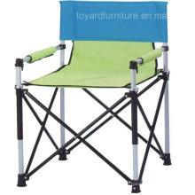 Novo pátio de alumínio ao ar livre pátio moderno portátil cadeira de praia dobrável portátil