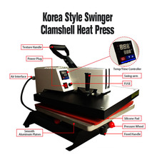 Mesin press panas digital Korea
