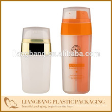 Double tube bottle with PP plastic