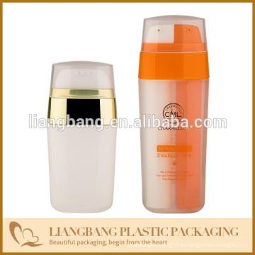Doble botella de tubo con plástico PP