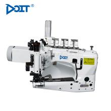 DT-35800 alimentation différentielle 3-aiguille point de chaînette jeans machine à coudre avec extracteur mécanique
