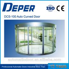 Operador de puerta corredera curva automática Deper