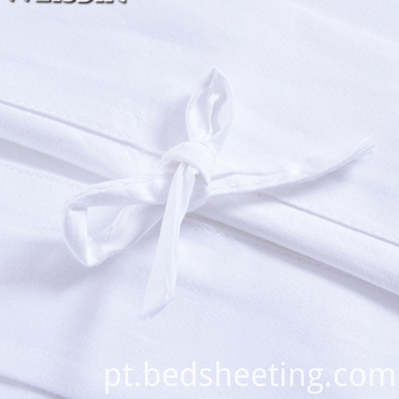 White Hotel Sateen Sheet