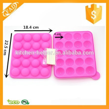 Silicone Ball Cake Molds Lolly Mold With Sticks