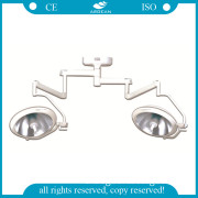 AG-Lt005 Cheap Ceiling-Mounted Double Halogen Operating Light