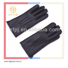 New arrival men hand-sewn classic leather gloves