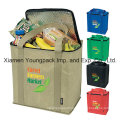 Personalized Zippered Thermal Insulated Grocery Tote Bag