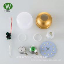 Wholesale led panel light 8inch led bulb skd low price