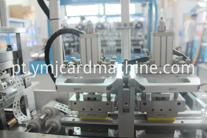 Detail of Chip Glue Laminating Machine