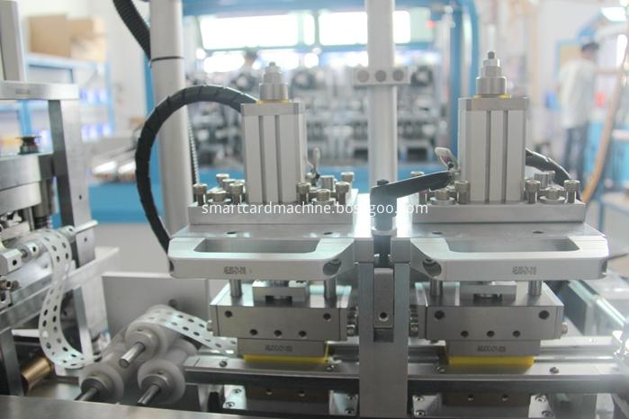 Detail of Chip Glue Laminating Machine
