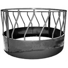 HDG Cattle Horse Round Bale Hay Feeder China Factory Fabricated Round Feeder