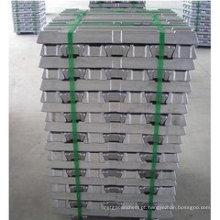 Lingote de alumínio de alta pureza para venda