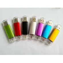 Ept 2 em 1 plástico USB OTG Pendrvive
