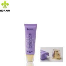 Design de embalagem de plástico creme para as mãos embalagem creme cosmético tubo sem ar
