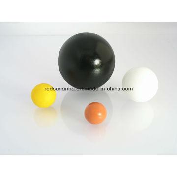 Bola de goma de 4 mm / 5 mm / 8 mm / 10 mm / 15 mm / 30 mm / 63 mm