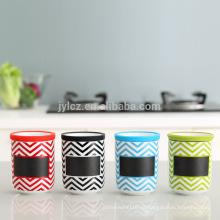 2015 nuevos productos té café azúcar almacenamiento jarras latas