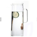 with Drip-Free Lid Cold Water Pitcher Cafe New Heat-resistant Glass Carafe