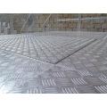 Paneles de piso en relieve no deslizante de panal