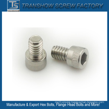 Stainless Steel Hex Socket Cap Knurled Head Screw