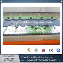 South Africa Best material Standard Archaized Colored Roofing Vermiculite Tile Forming Machine
