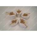 Linen handmade cosmetics gift box