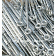 Hot-dip galvanized ring bolts and nuts