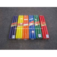 Party Decorative Colorful Long Burning Scented Stick Pillar Candle