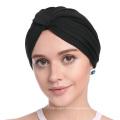 estilos headwrap chapéu de turbante em branco bandanas boné