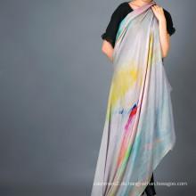 Cashmere Modal Blended Schal, Digital bedruckter Schal