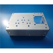 Boîte en métal perforée par laser, coquille protectrice pour l'appareil, boîte précise précise de usinage de commande numérique par ordinateur