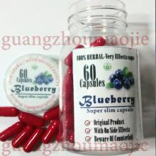 100% Natutal Blueberry Weight Loss Health Food Diet Pills (MJ-BL60 CAPS)