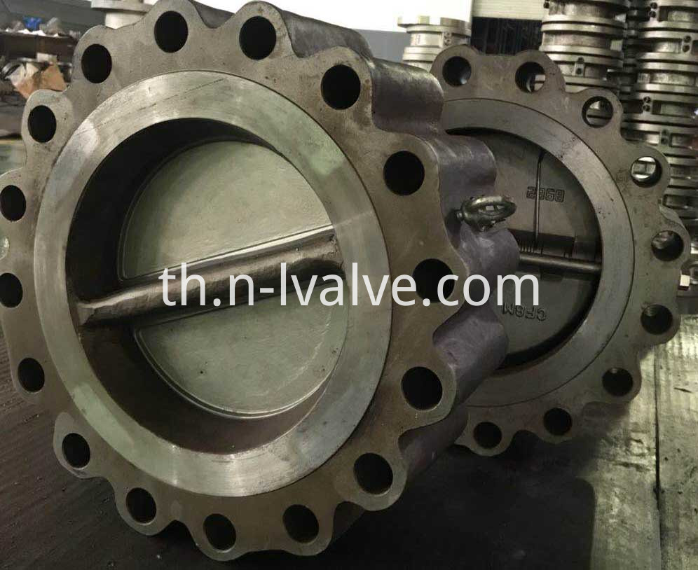 Lug Wafer Dual Plate Check Valve
