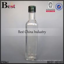 Botella de vidrio de vino 250ml