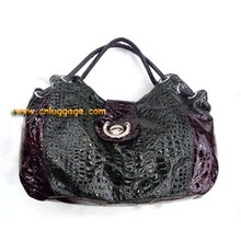 Fashionable design pattern leather handbag