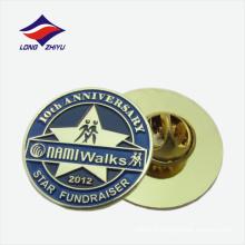Star fondraiser activité round shape badge badge