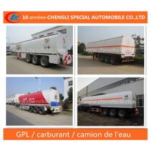 3 Essieux Semi-Remorque De Reservatório De Carburant Trailer