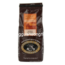 Plastic Whole Bean Packing Bag/Side Gusset Coffee Bag