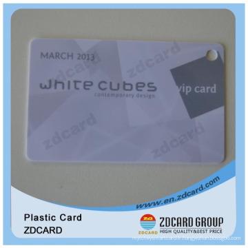 Carte de divertissement carte à bande magnétique carte VIP