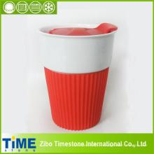Hochwertige feine Porzellan Tee Reisebecher (15032702)