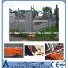 El panel de la cerca temporal del acoplamiento galvanizado caliente de la inmersión caliente