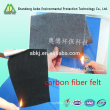 100% carbon fiber fire resistant 3-5mm felt supplier China