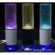 Water column speaker stereo USB LED fountain computer phone laptop speakers