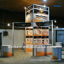 Shanghai custom 20x20 advertising booth space display for display exhibition booth -08