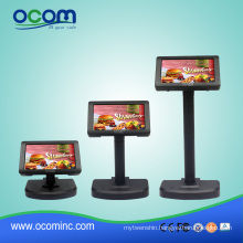 7inch High Brightness TFT-LCD USB POS Customer Display for Restaurant