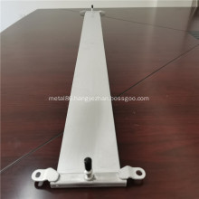 Aluminum alloy serpentine tube with inlet and outlet